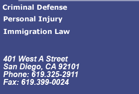 Immigration Law - Criminal Defense - Personal Injury